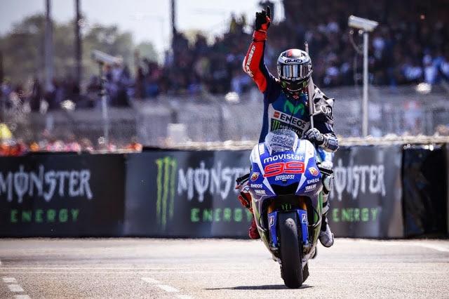 Lorenzo vence com dobradinha da Yamaha em Le Mans