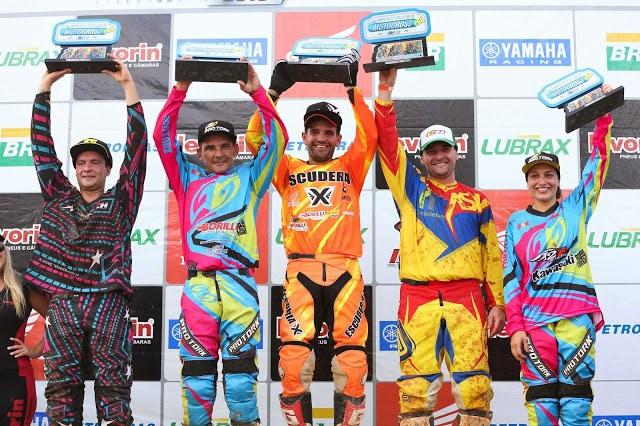 1ª etapa do Brasileiro de Motocross: Paulo Alberto (MX1), Gustavo Pessoa (MX2) e Duda Parise (MX3) fizeram a festa