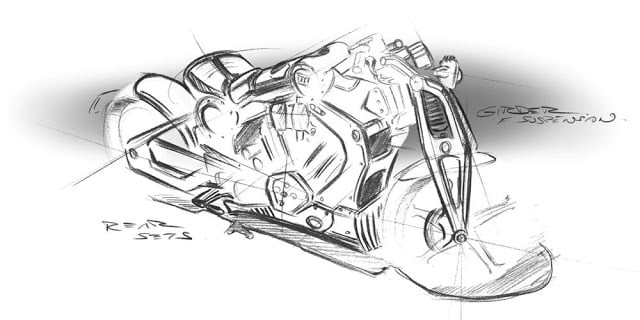 Confederate G2 P51 Combat Fighter: uma moto futurística e rebelde