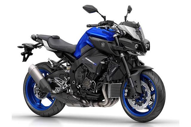Yamaha surpreende e lança a MT-10, versão Naked da YZF-R1