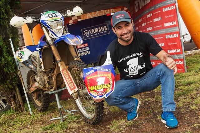 Motocicletas aceleram na abertura do Brasileiro de Rally Cross Country