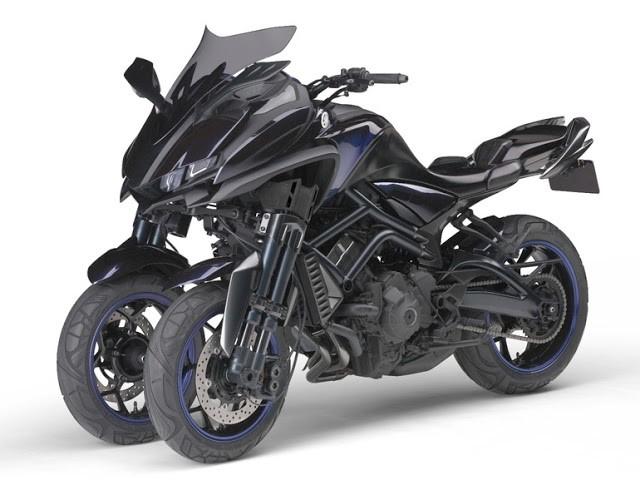 Yamaha MWT-9:  Moto de 3 Rodas deve chegar ao Mercado em 2018