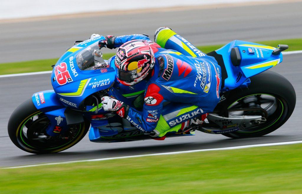 Maverick Viñales vence o MotoGP de Silverstone
