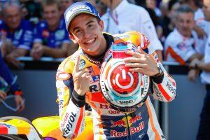 Marc M�rquez vence o MotoGP de Arag�o na Espanha