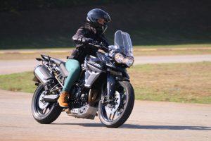 Triumph Riding Experience exclusivo para mulheres