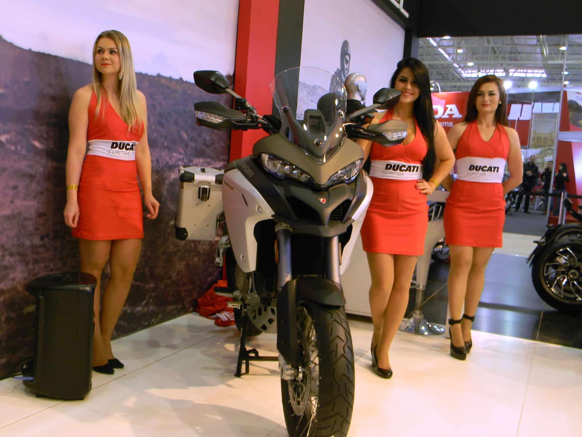 Ducati Multistrada 1200 - Apresentação no Brasil Motorcycle Show em Curitiba