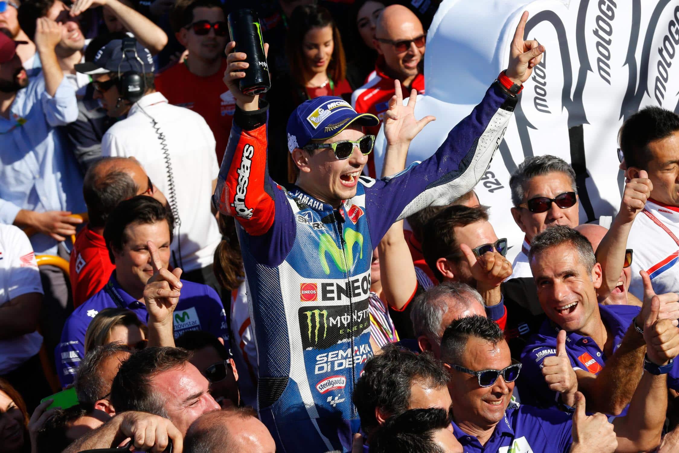 Jorge Lorenzo vence no MotoGP de Valência