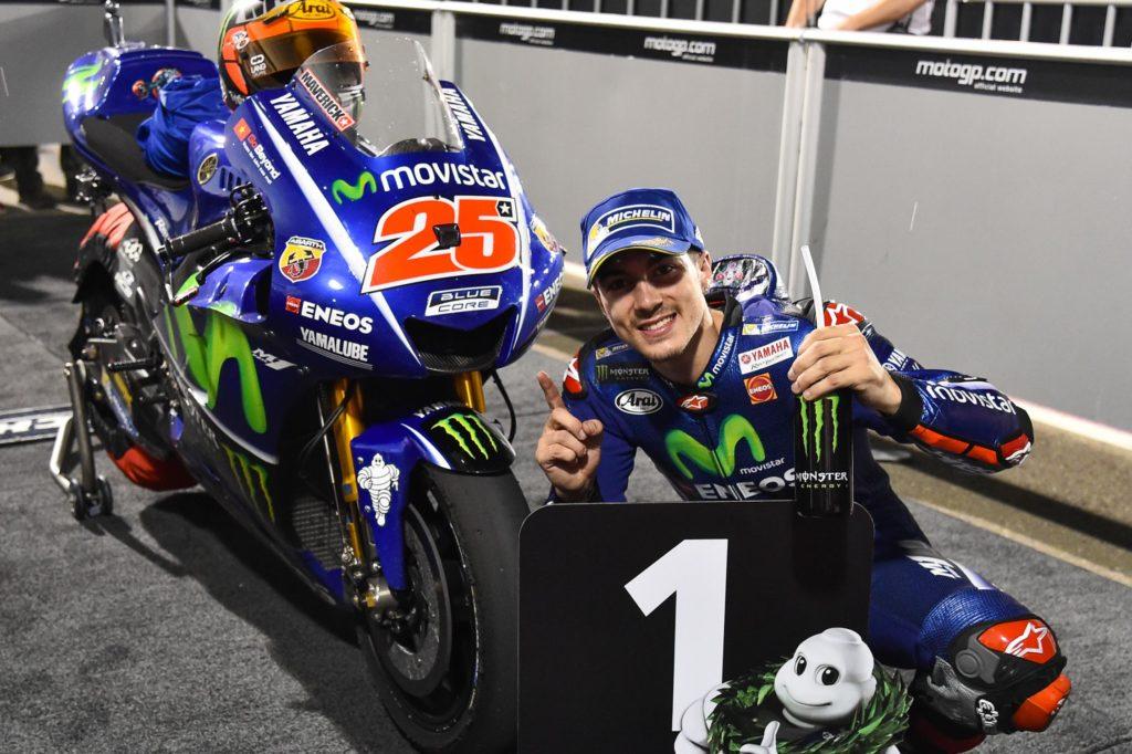 Viñales começando muito bem a temporada pela Yamaha.