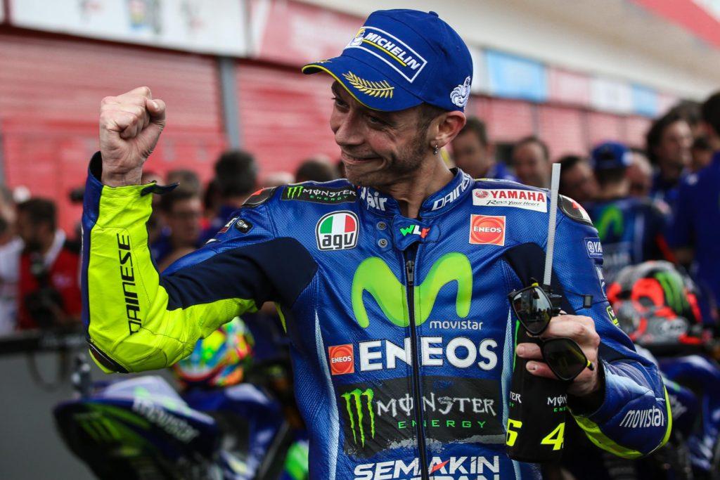 Rossi comemora seu MotoGP de número 350 - Foto MotoGP