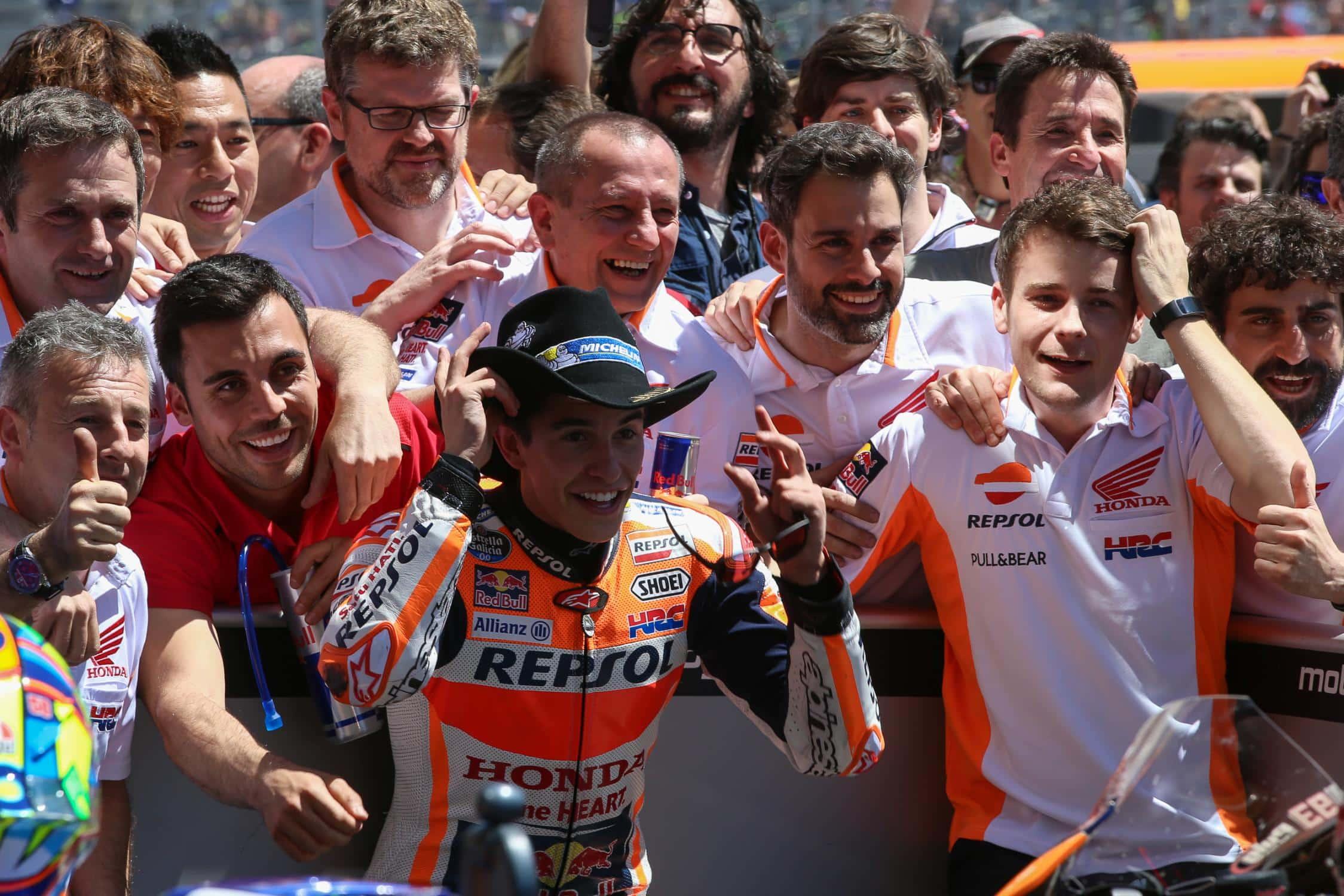 Márquez vence o MotoGP dos Estados Unidos pela 5ª vez