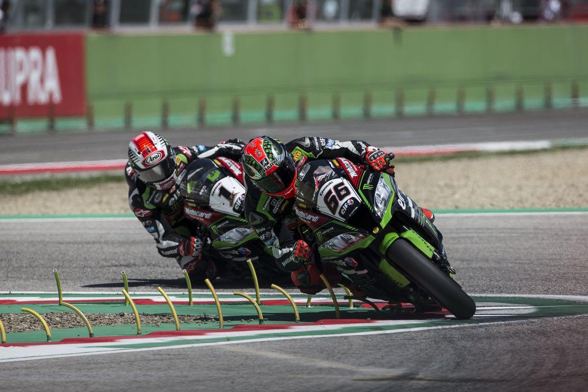 SuperBike: Kawasaki se despede da Itália com dois segundos lugares
