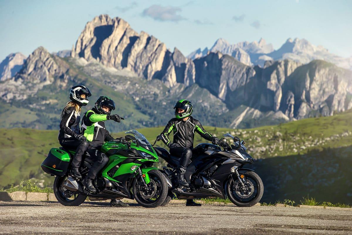 Ninja 650 ABS e Ninja 1000 ABS nas versões 2018