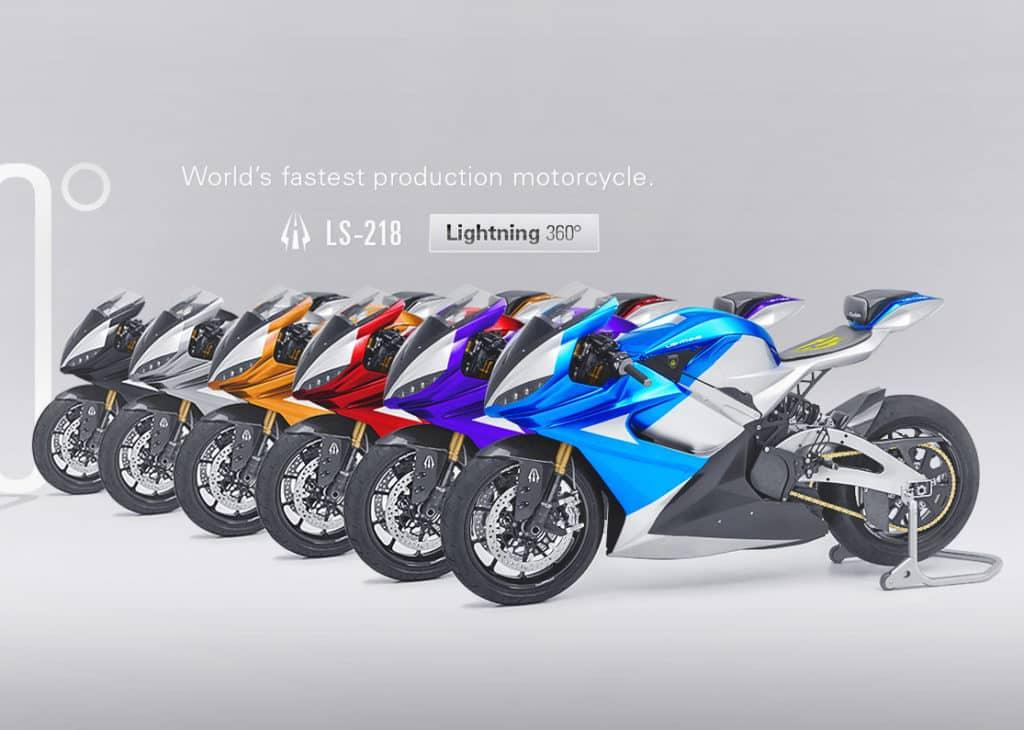 Lightning LS218 -  A moto elétrica que chega a 350km/h quer ficar mais rápida