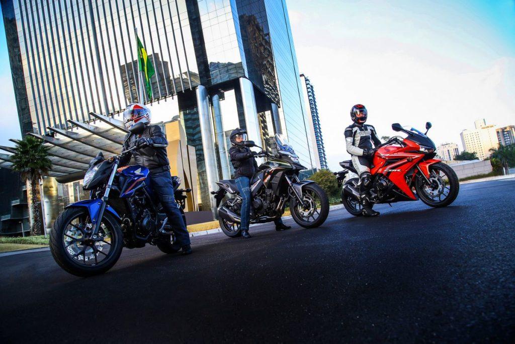 Honda apresenta a linha 500 cilindradas 2018
