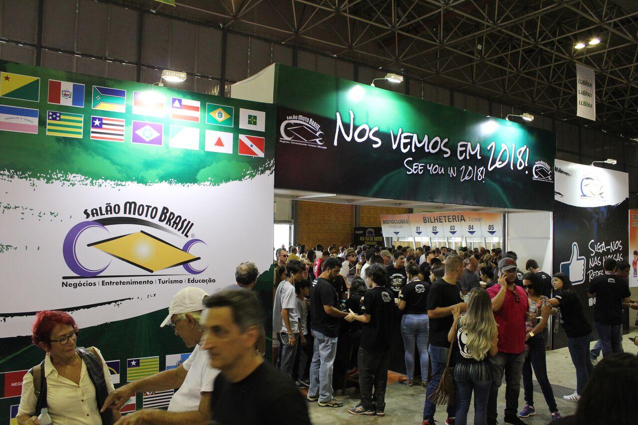 Salão Moto Brasil 2018: de 25 a 27 de maio | Riocentro |RJ