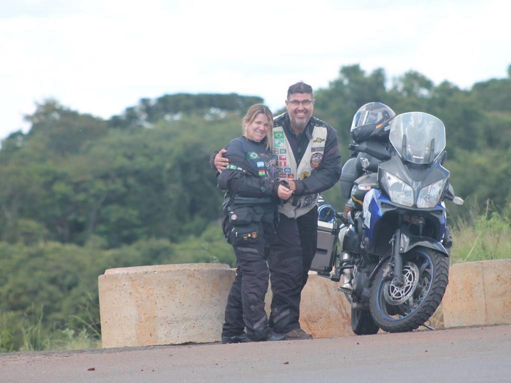 Rogerio Boschini - moto para viagens
