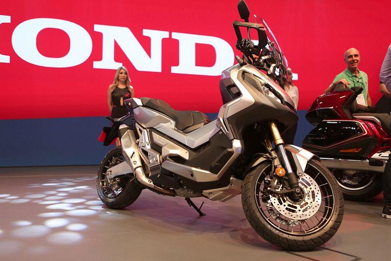 Honda X-ADV no Salão Duas Rodas 2017 (Foto: Marcelo Brandt/G1)