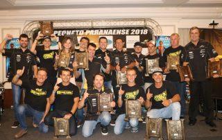 Federação Paranaense de Motociclismo premia campeões da temporada 2017