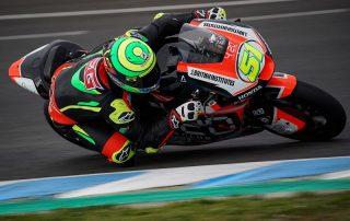 Fim de testes para Moto2 em Jerez de La Frontera