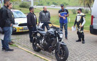 Yamaha e CCR Rodoanel realizam ação educativa para motociclistas