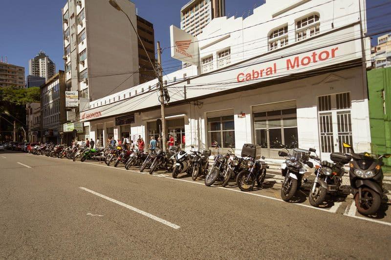 A Cabral Motor vendeu 4.745 motocicletas Honda zero km