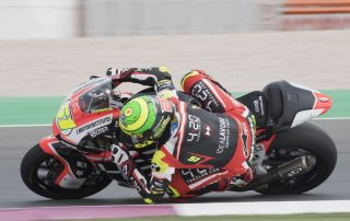 Eric Granado segue com problemas com sua moto no Catar