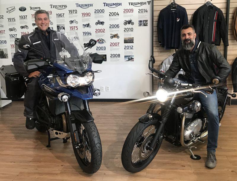 """Triumph nomeia dois novos """"Official Riders"""" em Curitiba"""