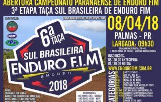Abertura do Paranaense de Enduro FIM 2018