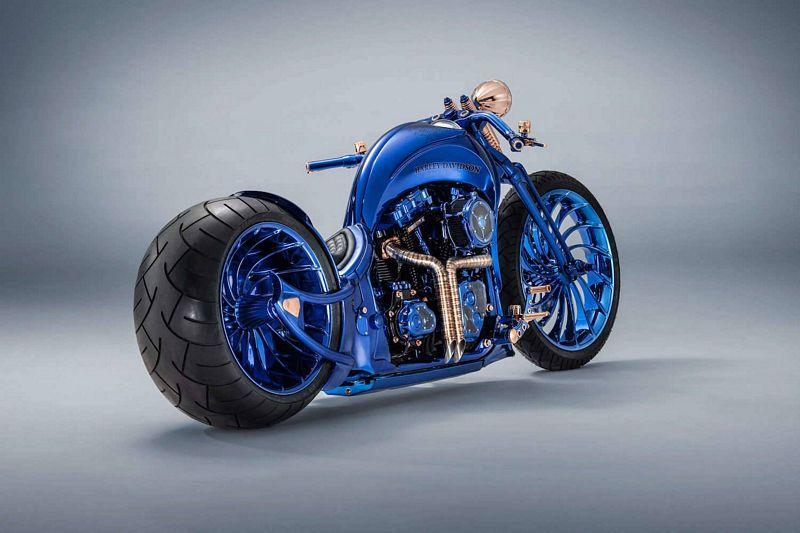Harley-Davidson Bucherer Blue Edition - a moto mais cara do mundo