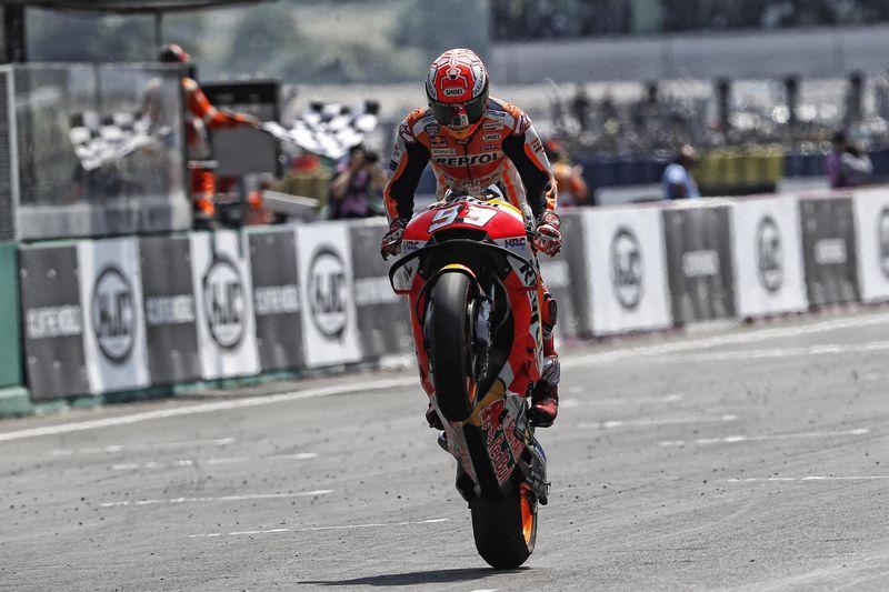 Moto GP da França: Márquez cada vez mais estrategista