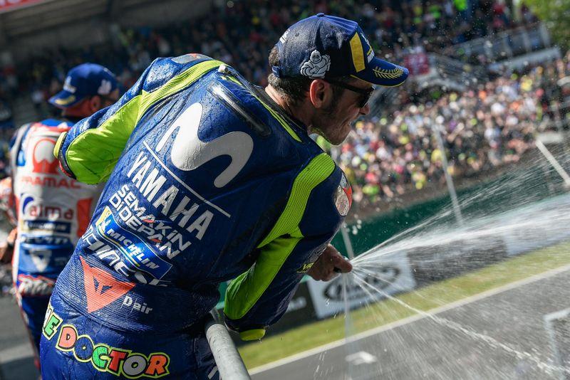 MotoGP da França: Rossi comemora o retorno ao pódio