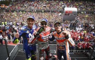 Rossi conquista terceiro pódio consecutivo