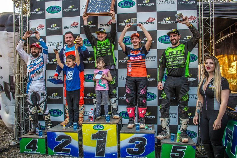 Maiara Basso competiu e conquistou o pódio no VX3 Especial - Foto: Rafael Schwartz / Velocross News