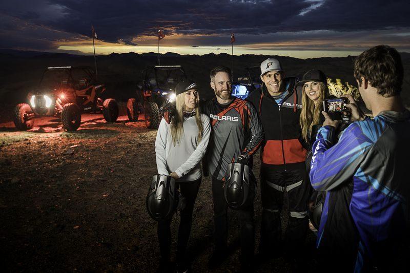 Polaris do Brasil acompanha seus clientes nas trilhas e passeios.