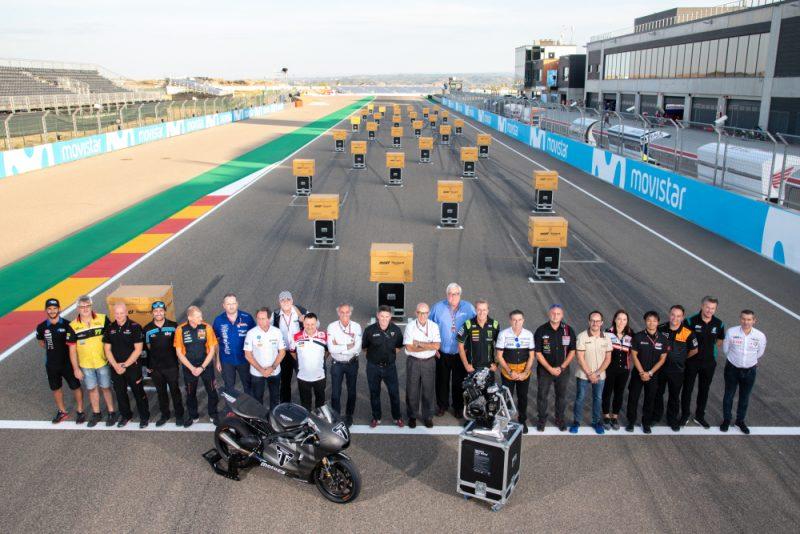 Triumph entrega os novos motores para a Moto2 no GP de Aragón de MotoGP