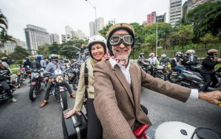 Fotos do Distinguished Gentleman's Ride 2018 no Brasil