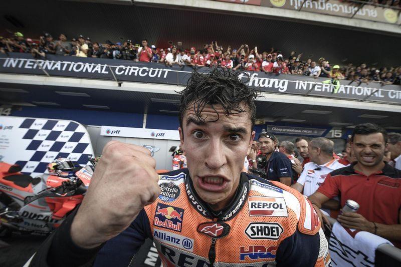 Marc Márquez é o mais jovem pentacampeão mundial de MotoGP