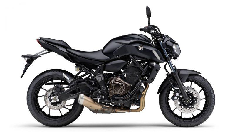 Yamaha apresenta a MT-07 ABS 2019