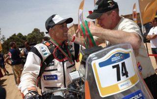 Lincoln Berrocal aos 60 anos: de repente Rally Dakar