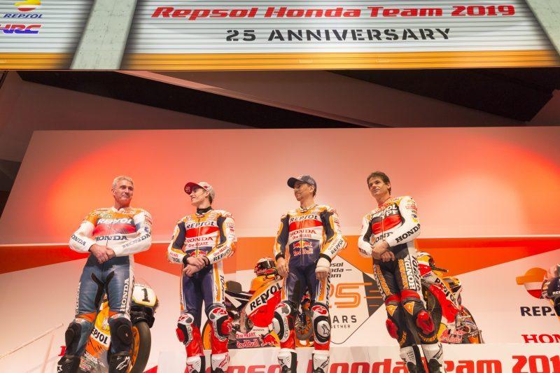 Doohan, Crivillé, Márquez e Lorenzo