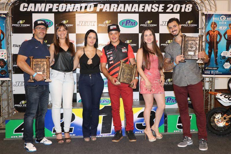 Destaques do motociclismo paranaense serão premiados nesta sexta-feira (15)