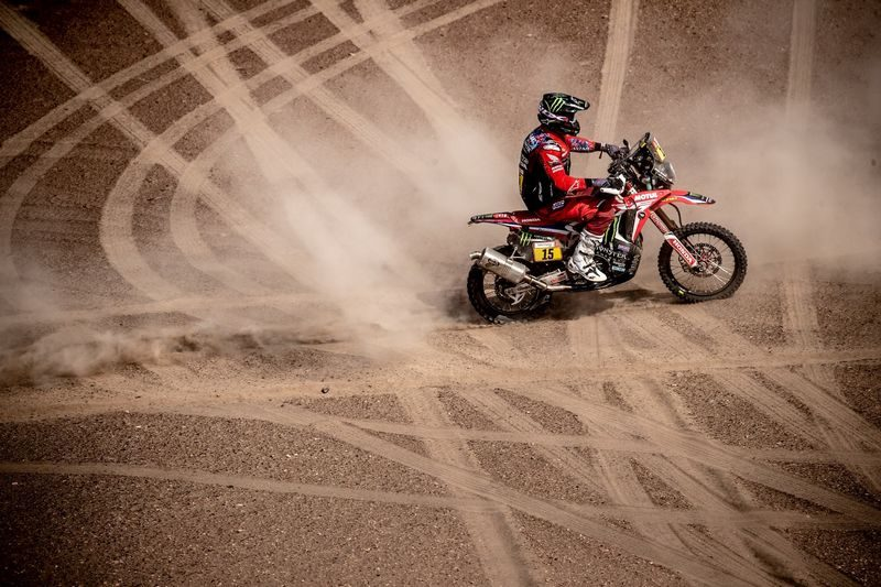 Equipe Honda se prepara para o final do Rally Dakar 2019