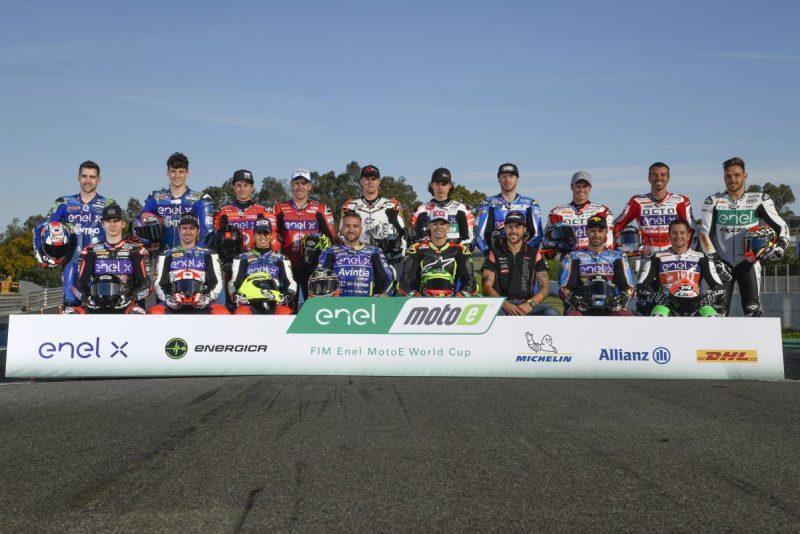 Pilotos da MotoE 2019 - Foto: MotoGP