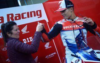 Mãe de piloto: Como é ter um filho na equipe Honda Racing?