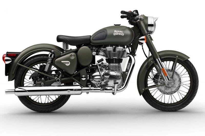BMS Motorcycle - Royal Enfield Classic-500 foi o modelo escolhido para a customização