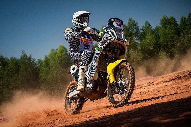 "O cearanse ""Índio"" segue para o décimo Rally dos Sertões e nas motos (Marcelo Maragni/Fotop)"