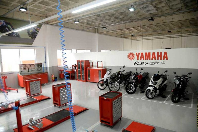 Yamaha inaugura seu primeiro centro de treinamento no nordeste em parceria com o SENAI