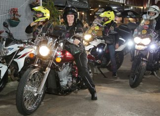 Mulheres motociclistas - Filhas do Vento e da Liberdade - Foto: Giuliano Gomes/PRPress