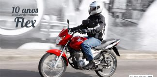 Honda comemora 10 anos do Motor Flex em motocicletas