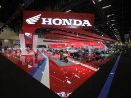 Honda Motos no Salão Duas Rodas